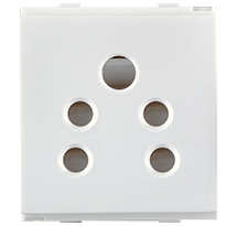 6A 2 in 1 Socket (with Shutter)