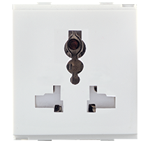 (6/10/13)A All Pin Multi Socket (with Shutter)