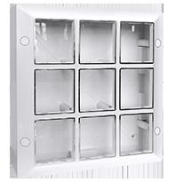 18 Module Surface Box