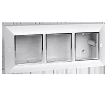 6 Module Surface Box (Square)