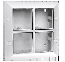 8 Module Surface Box.