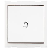 6A 2 Module Bell Push Switch