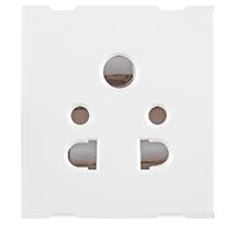 6A 2 Module Multi Socket Mobile Pin