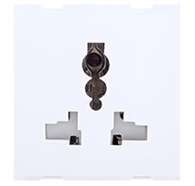 6A 2 Module Multi Socket 6/10/13 All Pin