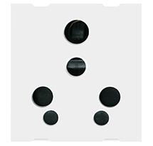 6/16A 2 Module Universal Socket