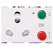 25A 3 Module Motor Starter Combine