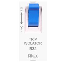6-32A 1 Module S.P. Trip Isolator