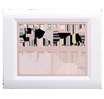 10 Module Ena Wood Plate (Horizontal)