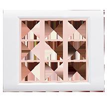 18 Module Ena Wood Plate (Horizontal)