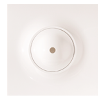 """Olina Square Ceiling Rose 4.5"""" x 4.5"""" (Plate Type)"""