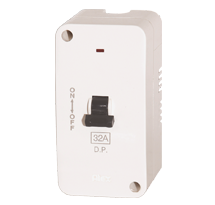 32A DP-Trip Switch with Enclosure