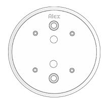 86 mm Ceiling Plate