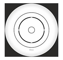 166 mm Ceiling Plate for Fan